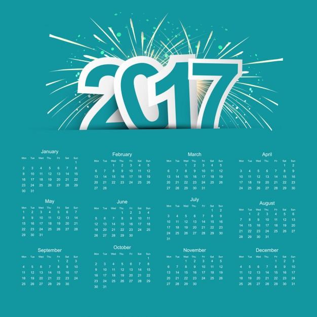 2017-calendar-with-fireworks_1035-2070